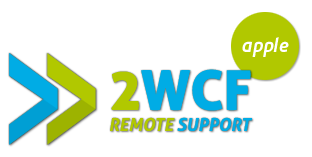 2WCF Remote Support Apple