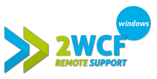 2WCF Remote Support Windows